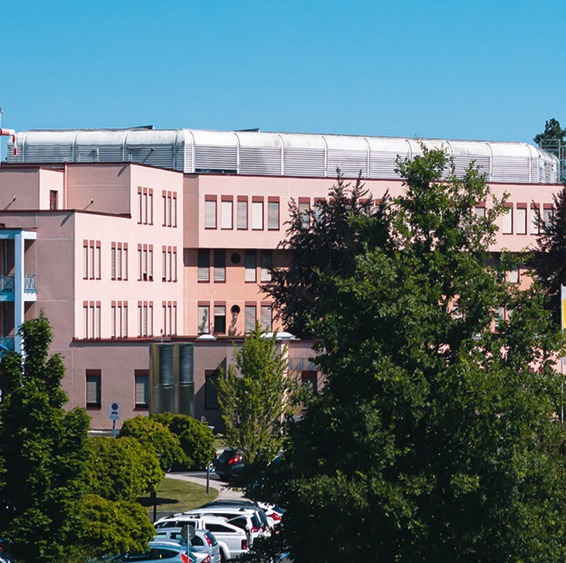 Krankenhaus - Gebäude - Bodenversiegelung