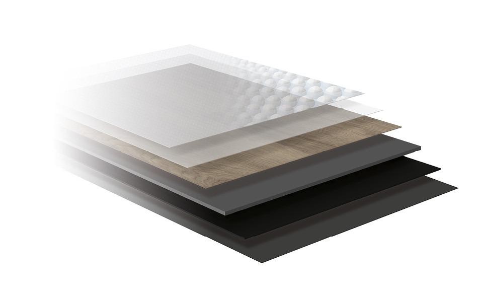 Vinyl CLICK Aufbau