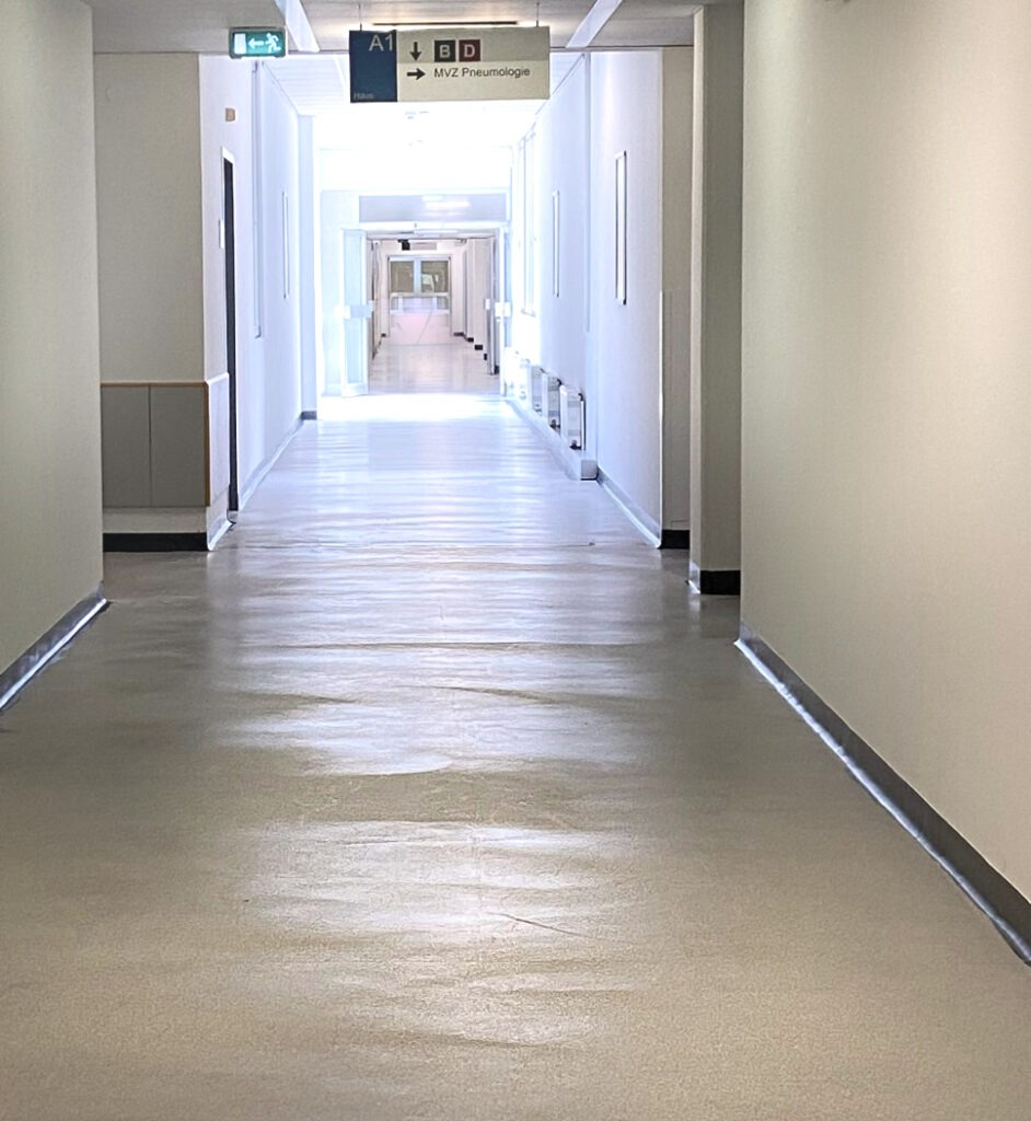 Krankenhaus - Raumbild Vorher Colour
