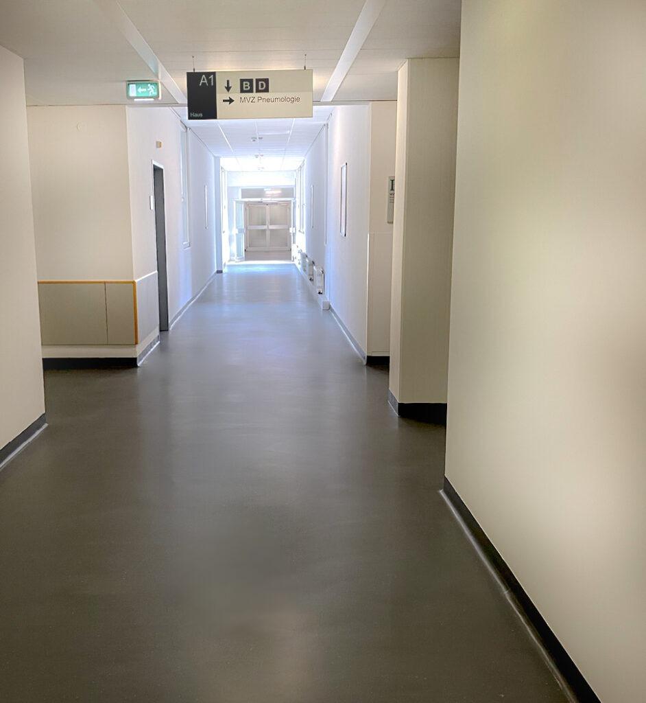 Krankenhaus - Raumbild Nachher Colour